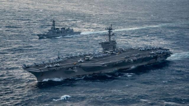 US navy ships head toward Korean peninsula in show of force to ... - scmp.com