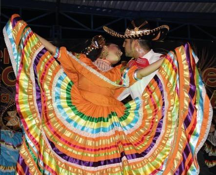 Baile representativo del estado de Jalisco- Buenavista de Cuellar, Gro. Por el Ballet Folklórico Profesional