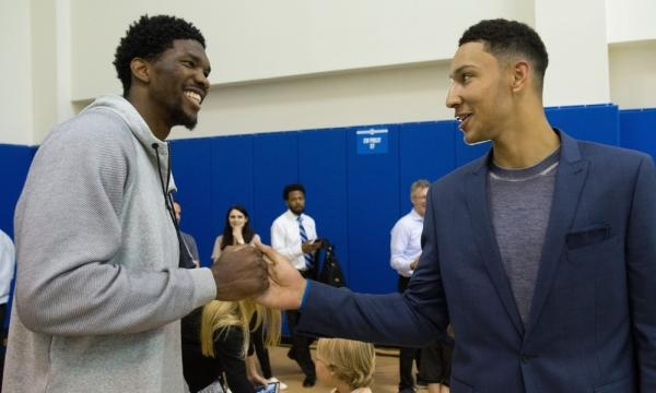 Joel Embiid reminds everyone to 'Trust The Process' after Ben ... - usatoday.com