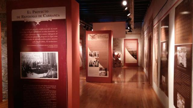 El propio Palacio de Gobierno en su magnitud alberga un museo de historia nacional.