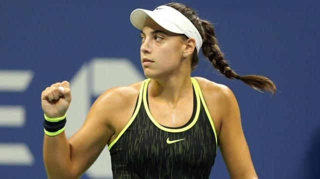 19 year old Ana Konjuh is definitely a player for the future - picture courtesy of eurosport.com