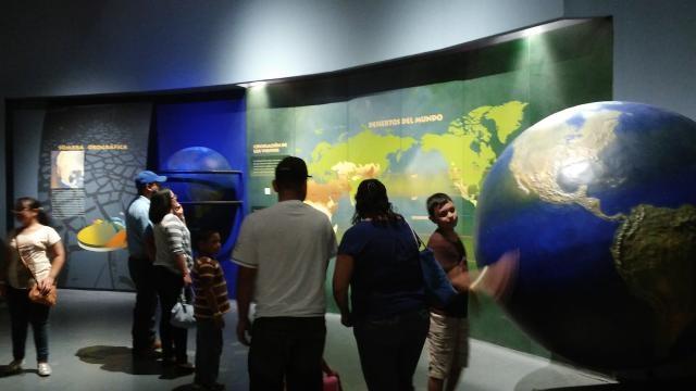 El desierto se aborda desde el origen del planeta mediante varios métodos.