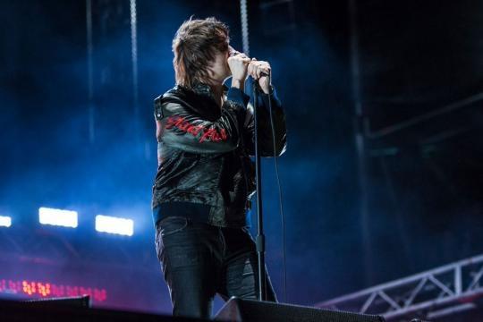 Julian Casablancas, vocalista de The Strokes (Fuente: INFOBAE)