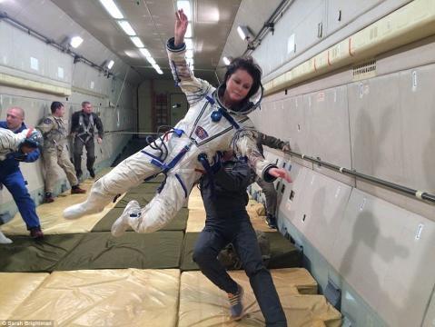 Sarah Brightman postpones £33m flight to the International Space ... - dailymail.co.uk