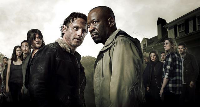 The Walking Dead Temporada 6 en Abril