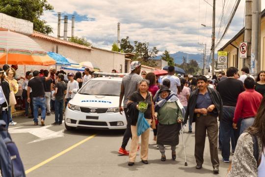 Una verdadera fiesta democrática en las elecciones ecuatorianas en este 2 de abril del 2017