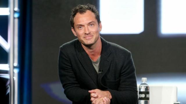 Jude Law interpretará a un joven Albus Dumbledore