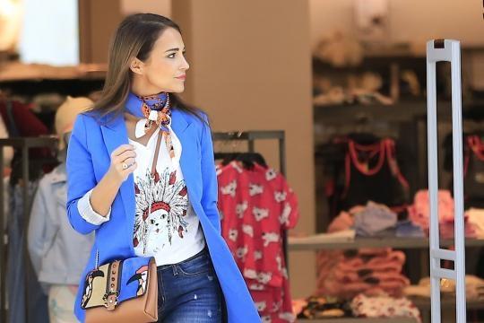 Paula Echevarría, de compras con su madre