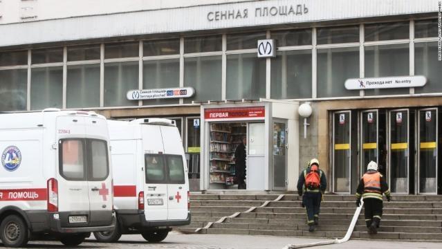 St. Petersburg metro explosion: At least 10 dead in Russia blast ... - cnn.com