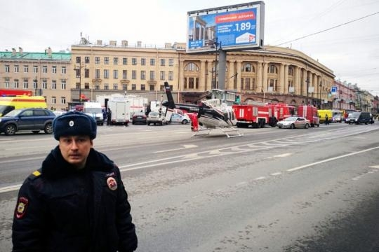 Suicide bomber suspected after blast on St. Petersburg subway ... - thestar.com
