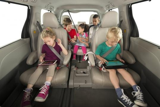 The mifold makes traveling with children much safer. / Photo via Jon Sumroy, used with permission.