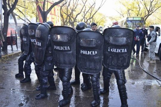ATE denunció represión policial | Tiempo del Este - tiempodeleste.com