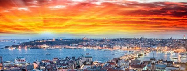 Impresionante vista de Estambul