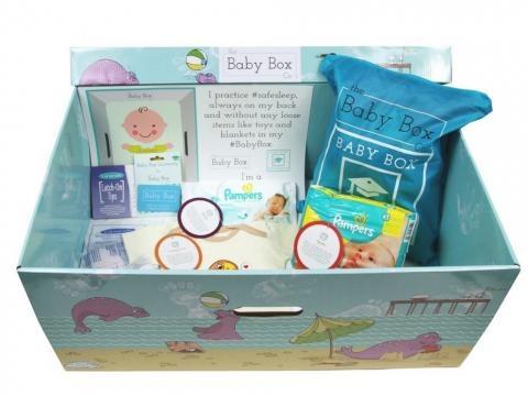 Ala. gives new parents baby boxes to encourage safe sleep habits. Photo courtesy of Alabama Today - altoday.com