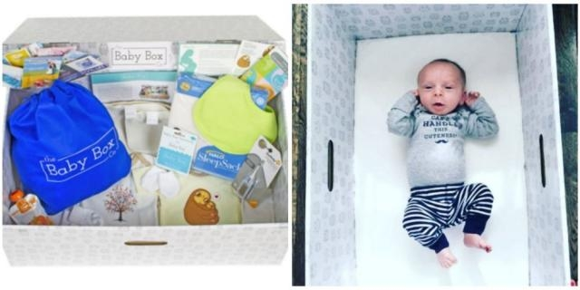 Baby Box partners up with NJ to provide boxes to new parents. Photo courtesy of Good Housekeeping - www.goodhousekeeping.com