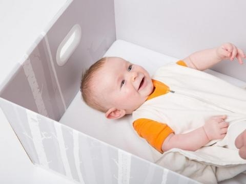 The Finnish Baby Box is becoming popular all around the world. Photo courtesy of Smithsonian - www.smithsonian.com
