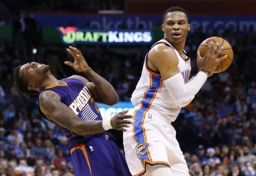Tramel: Russell Westbrook amazes even himself in rout of Suns ... - newsok.com