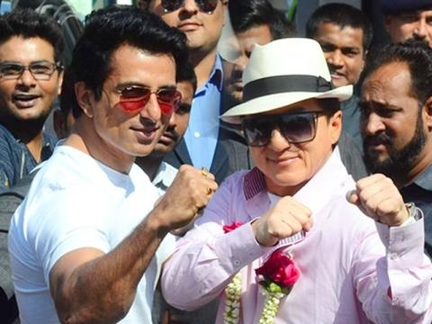Jackie Chan visits India for Kung Fu Yoga | Lehren.com - lehren.com BN support
