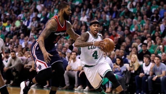 Bradley scores 29, Celtics power past Wizards, 123-101 | WJAR - turnto10.com