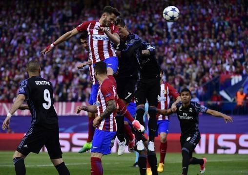 Colchoneros y merengues dejaron la piel en el partido | Foto tomada de: UEFA OFICIAL
