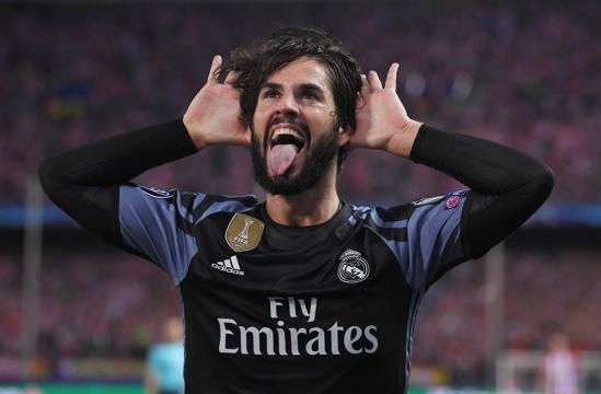 ¡Euforia total! Isco sentenció el partido | Foto de: UEFA OFICIAL