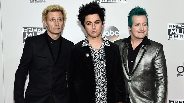 Green Day Blasts Donald Trump at American Music Awards   Variety - variety.com