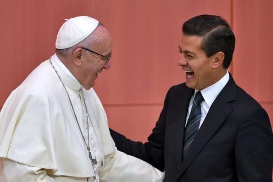 Pope Francis meets Enrique Pena Nieto - ABC News (Australian ... - net.au