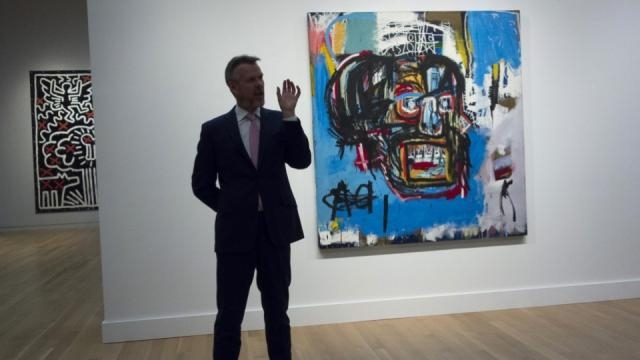 At $110.5 Million, Basquiat painting becomes priciest work ever. Photo courtesy of Blasting News Library.