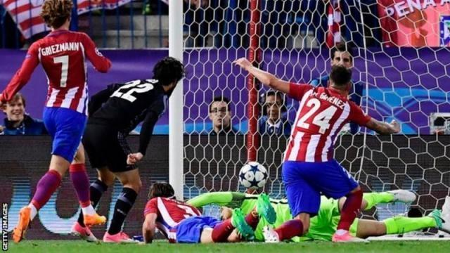 Isco scoring the crucial away goal - BBC