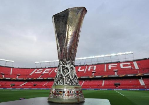 The Europa League cup. Manchester United to face Ajax - thesun.co.uk