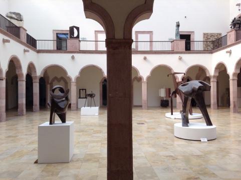 En el Felguérez de Zacatecas, cada detalles nos conduce a una visión alternativa del arte.