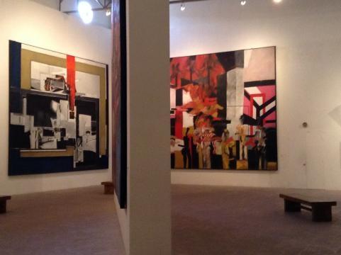 Los autores más reconocidos de la escena abstracta representados con tremendos murales.