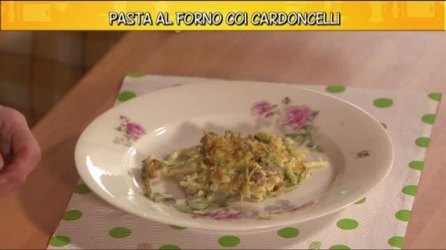 Video Ricette all'italiana: Pasta al forno coi cardoncelli - CLIP ... - mediaset.it
