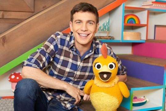 Tim hosts a show on Sprout called