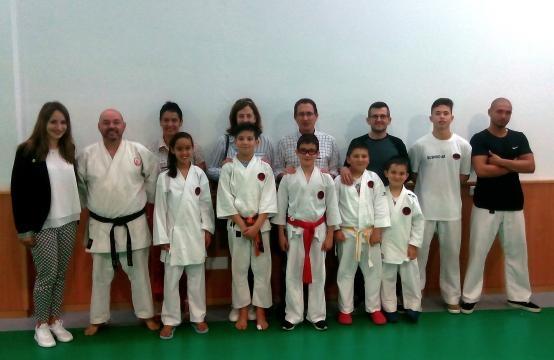 Sara Barbosa visita atletas de competição da Bushido.