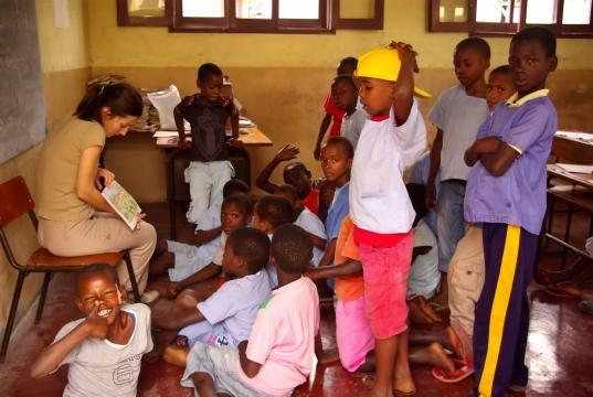 Ensino para as crianças de São Tomé