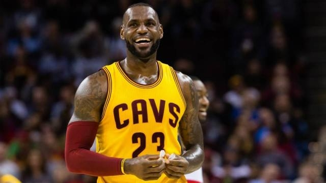 LeBron James headlines the All-NBA First Team for 2017. [Image via Blasting News image library/sportingnews.com]