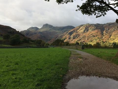 Langdale Valley, The Lake District, Cumbria