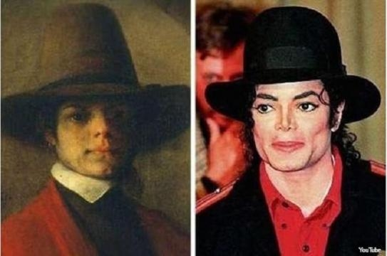 Michael Jackson comparado a uma pintura de 1600