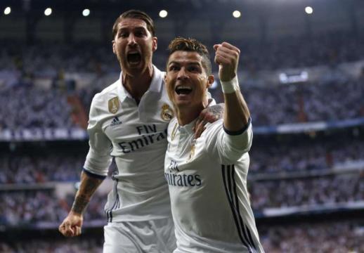 Ronaldo leads Madrid to 3-0 win over Atletico in CL semis leg 1
