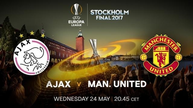 Ajax vs Manchester United Europa League Final - @rccelta