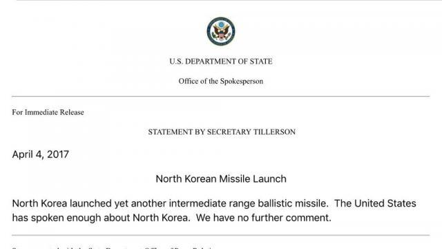 North Korea Fires Ballistic Missile Into East Sea As US Warns ... - zerohedge.com