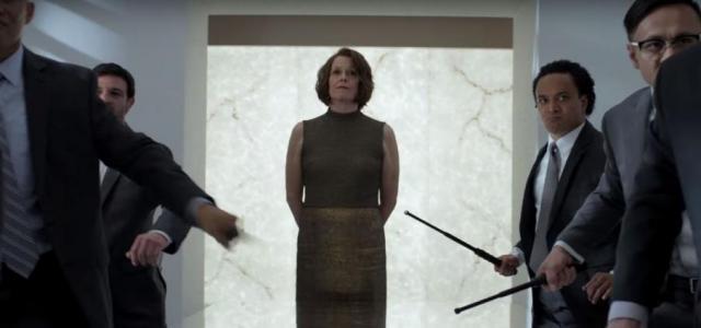 Sigourney Weaver in The Defenders (via Youtube.com/Netflix)