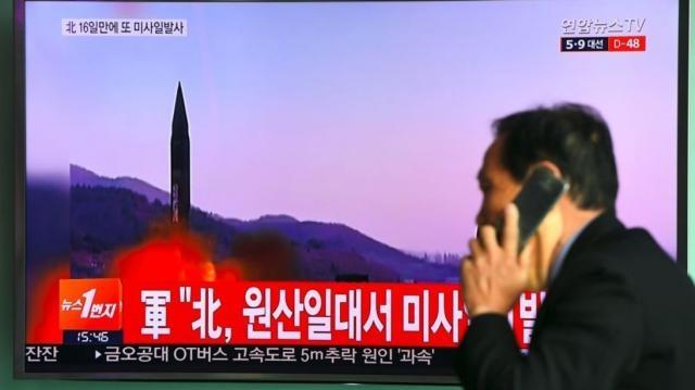 North Korea fires missile ahead of Trump summit with Xi - sky.com