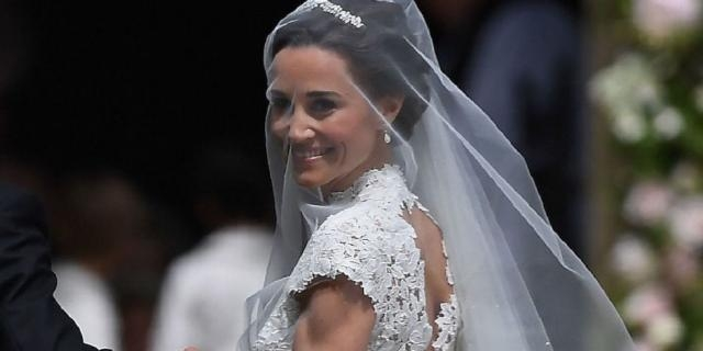 Pippa Middleton, matrimonio e abito da favola