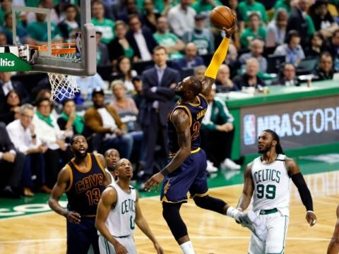NBA Playoffs 2017: Watch The Moment LeBron James Passed Michael ... - yahoo.com