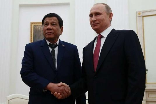 Philippines President Duterte asks Russia for loan to buy weapons ... - sfgate.com Blasting News Library