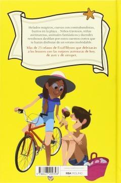 Libros infantiles sobre las vacaciones de verano: contraportada de