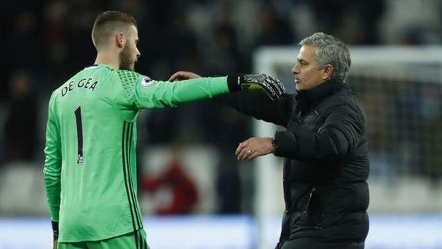 Mourinho's 'punishment' for De Gea for wanting Real Madrid move ... - besoccer.com