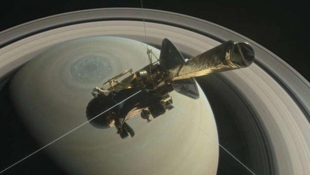 sonda Cassini, comienza el fin de su periplo.